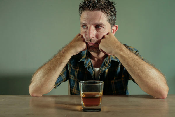 Man and alcohol