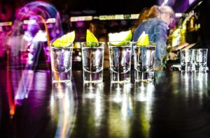 a lot of shots for binge drinking